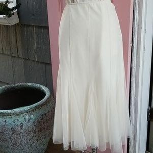 Retro Hunt Club Tulle Skirt Ivory M